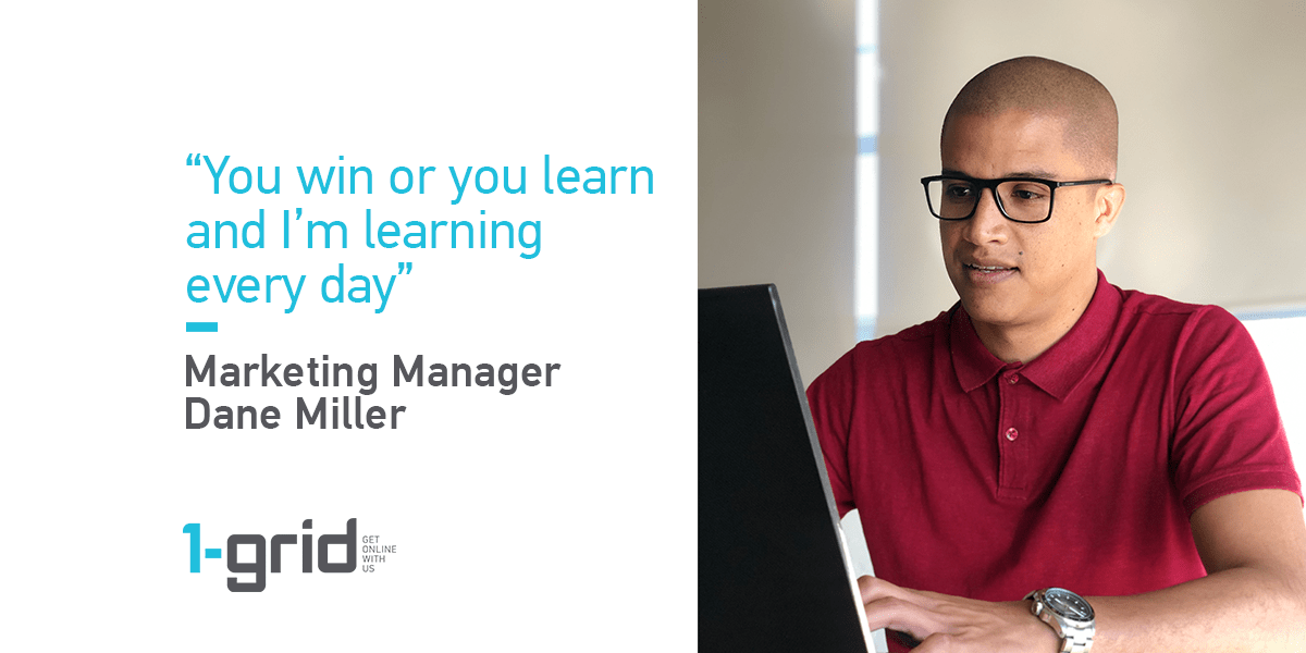 Marketing Manager Dane Miller talks about working at 1-grid