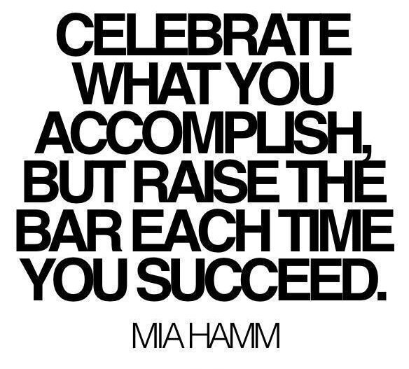 Celebrate your accomplishments - blog image