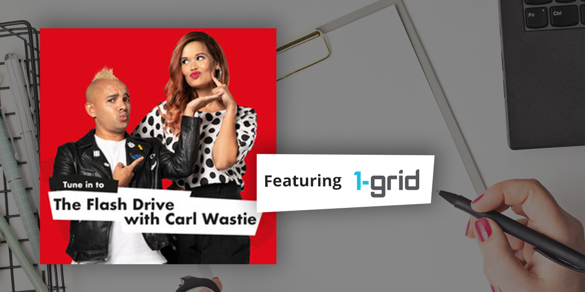 BizBoost | The Flash Drive with Carl Wastie feat. 1-grid
