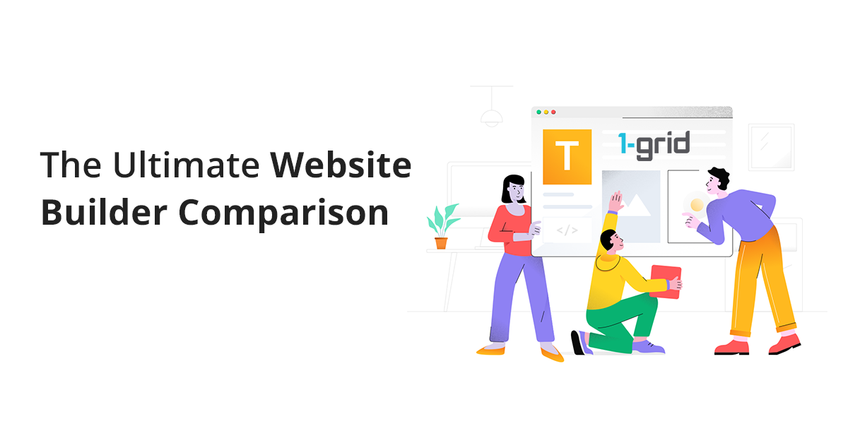 The Ultimate Website Builder Comparison